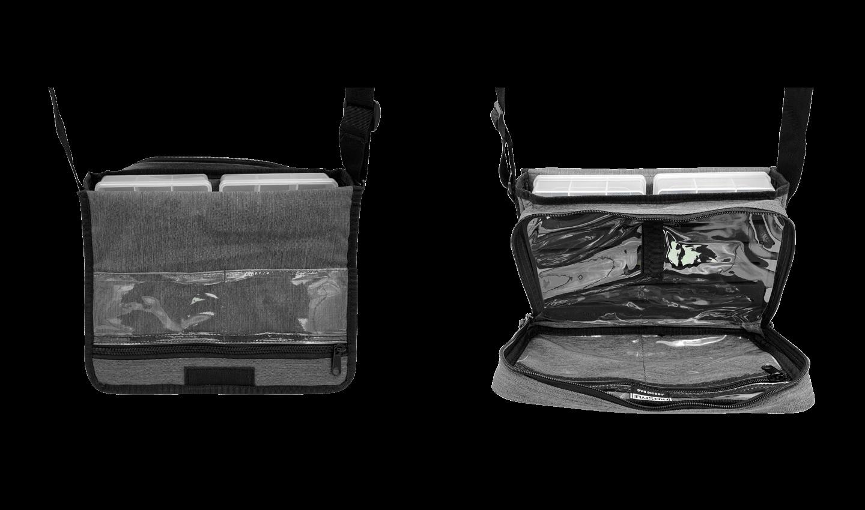 Front & Back Open View - Jigging Bag V2