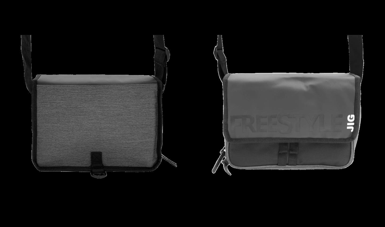 Front & Back View - Jigging Bag V2