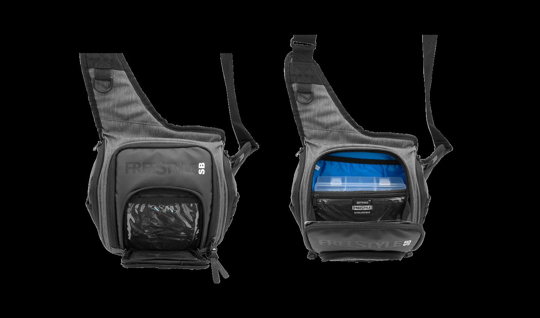 Front View Sections - Shoulder Bag V2