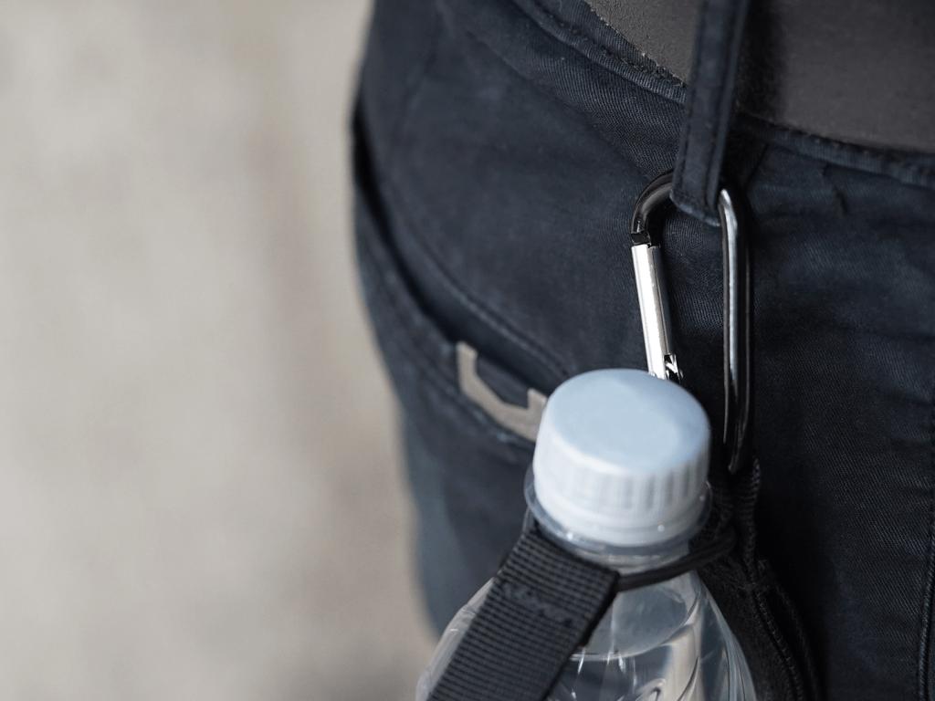 Hydrate Bottle Holder - Carabiner