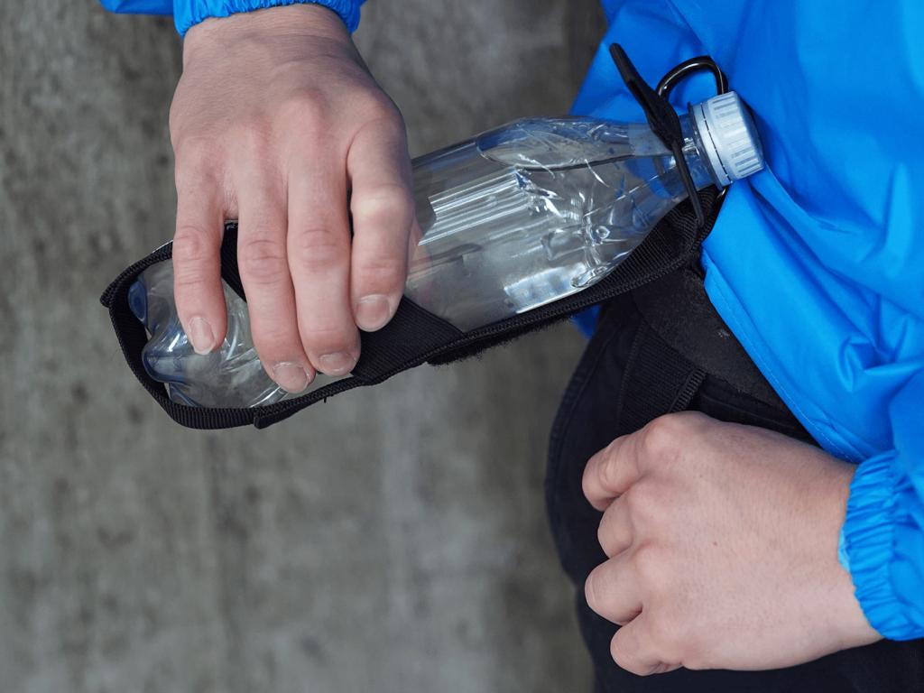 Hydrate Bottle Holder - Velcro Belt Strap
