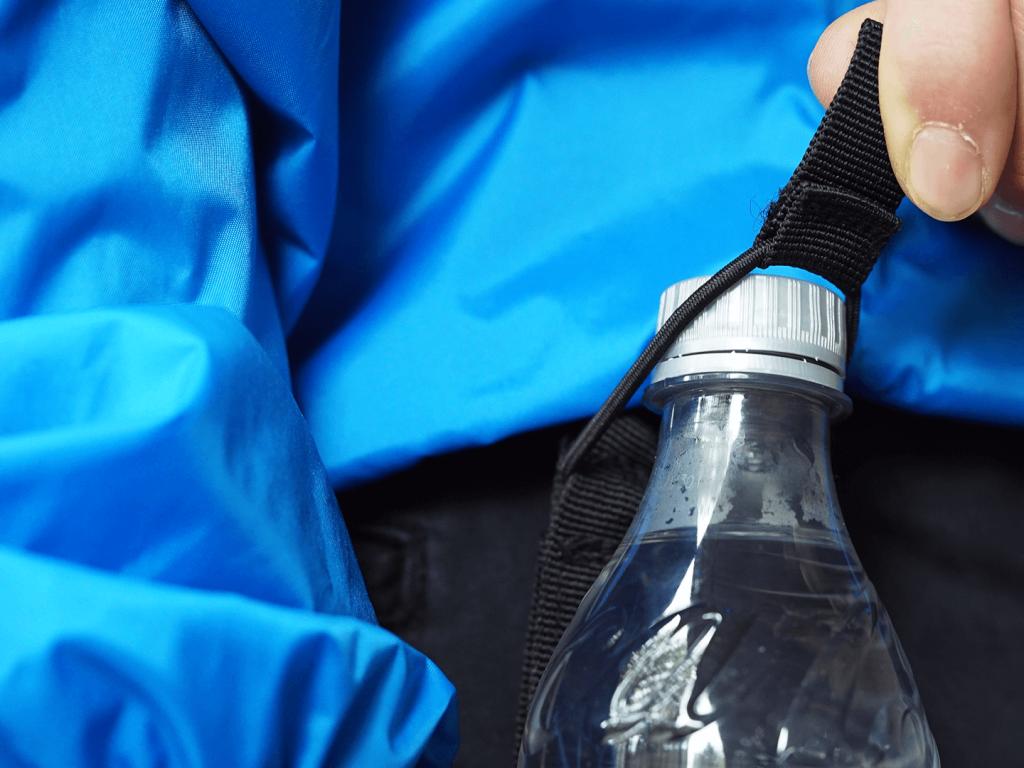 Hydrate Bottle Holder - Elastic Puller
