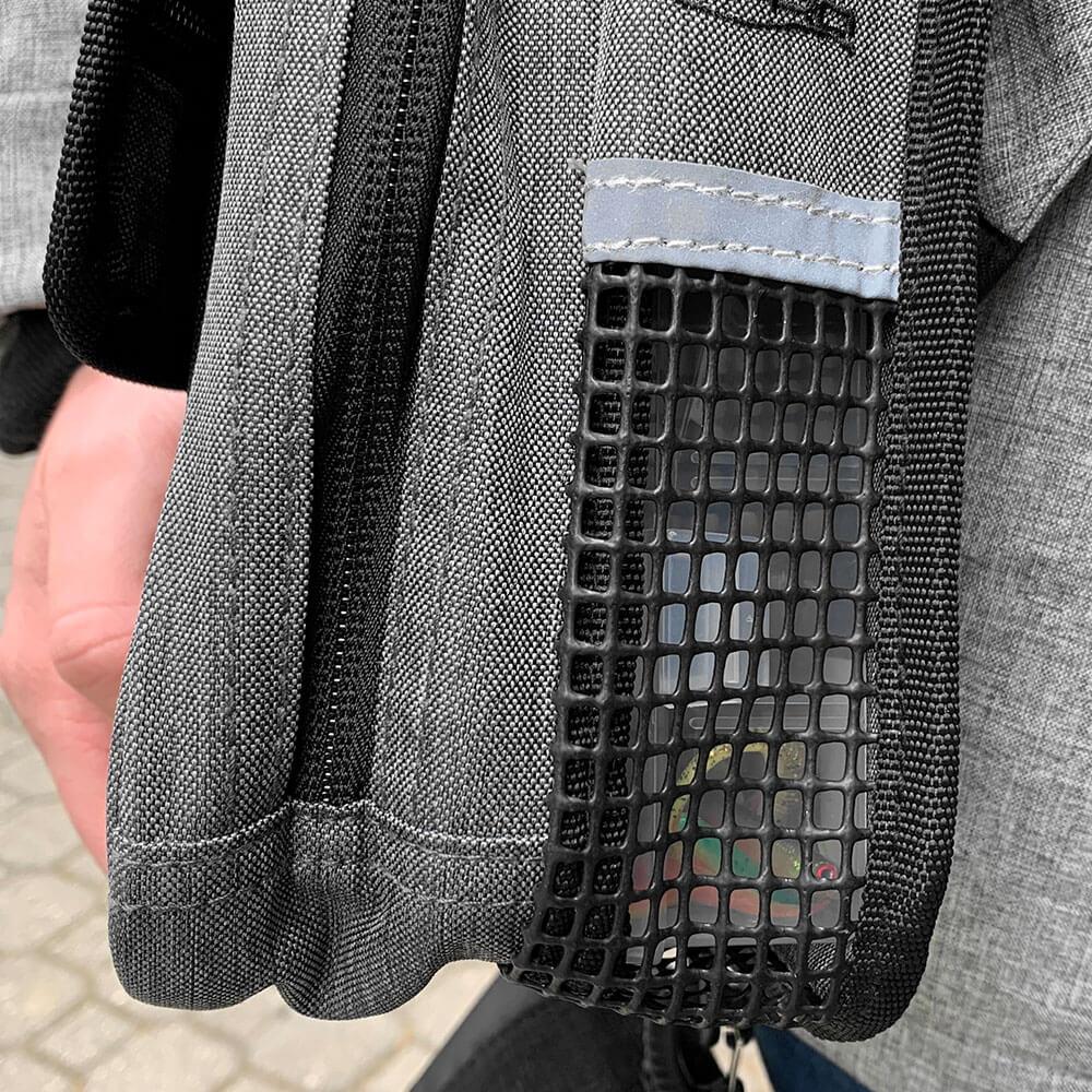 Jigging Bag V2 - Key Features - Mesh