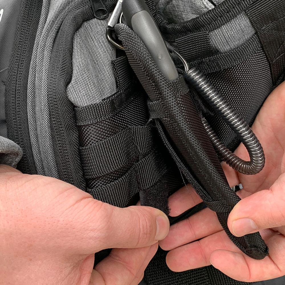 Shoulder Bag V2 - Key Features - Accessory Holder