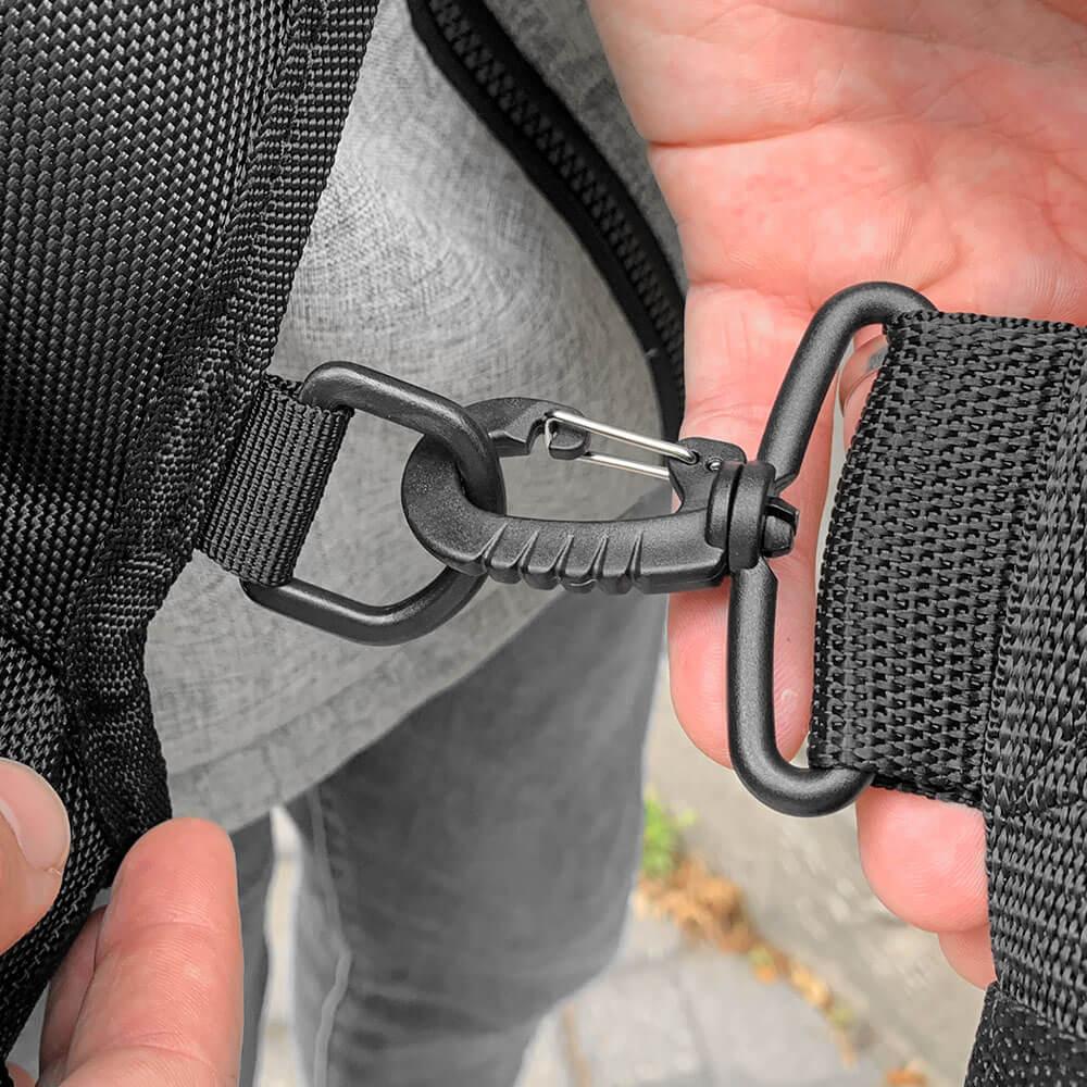 Shoulder Bag V2 - Key Features - D-Rings