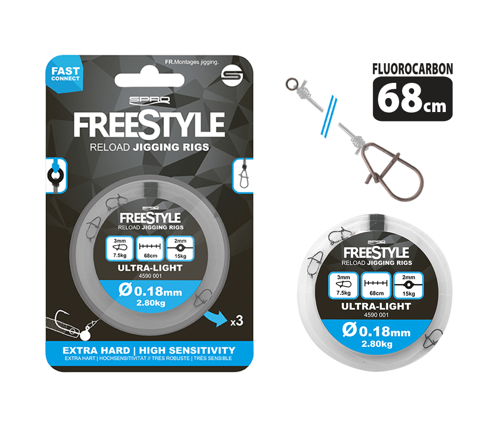 Freestyle Reload - Dropshot Rigs