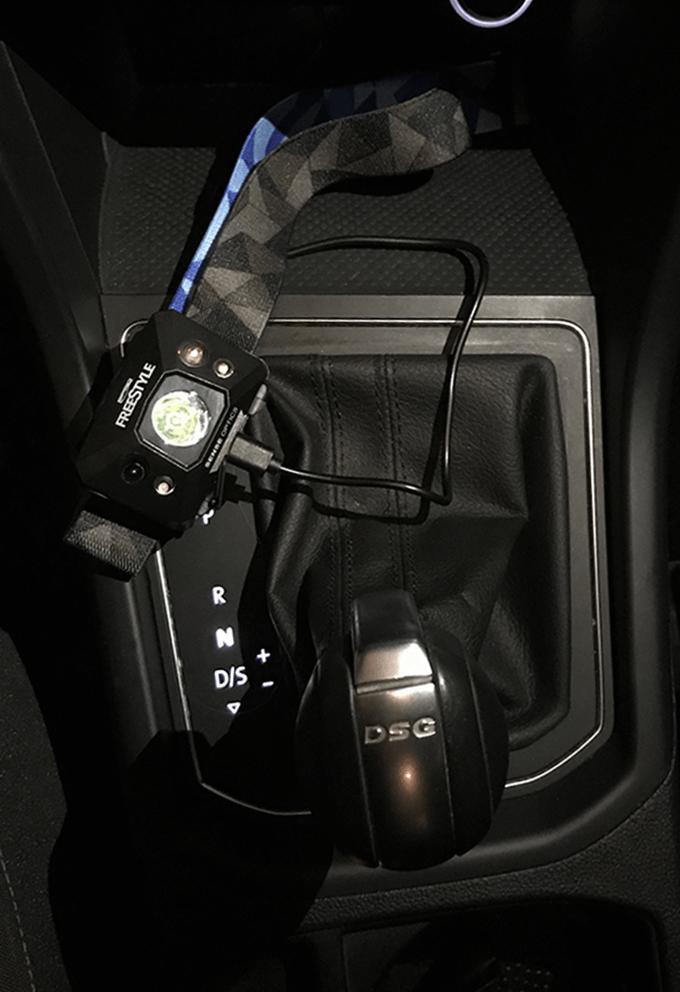 Die neue Freestyle Sense Optics jetzt auch im Auto laden!