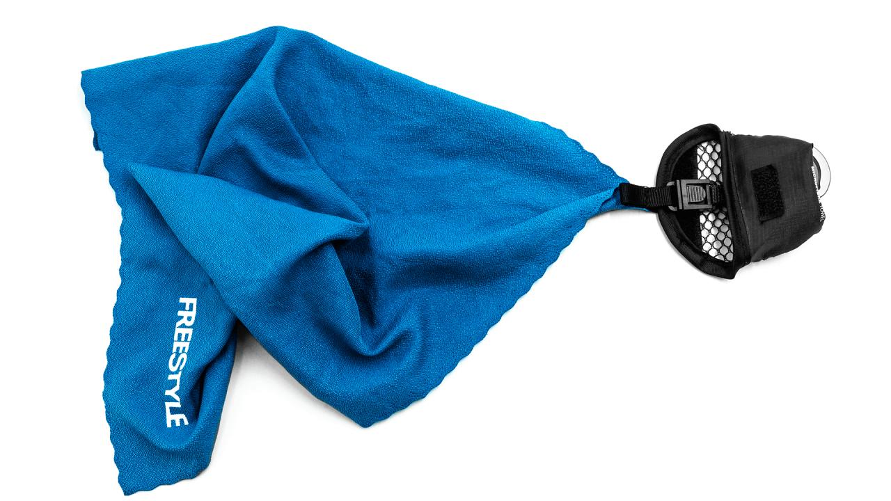 Comparison Slider - Microfibre Towel Connected