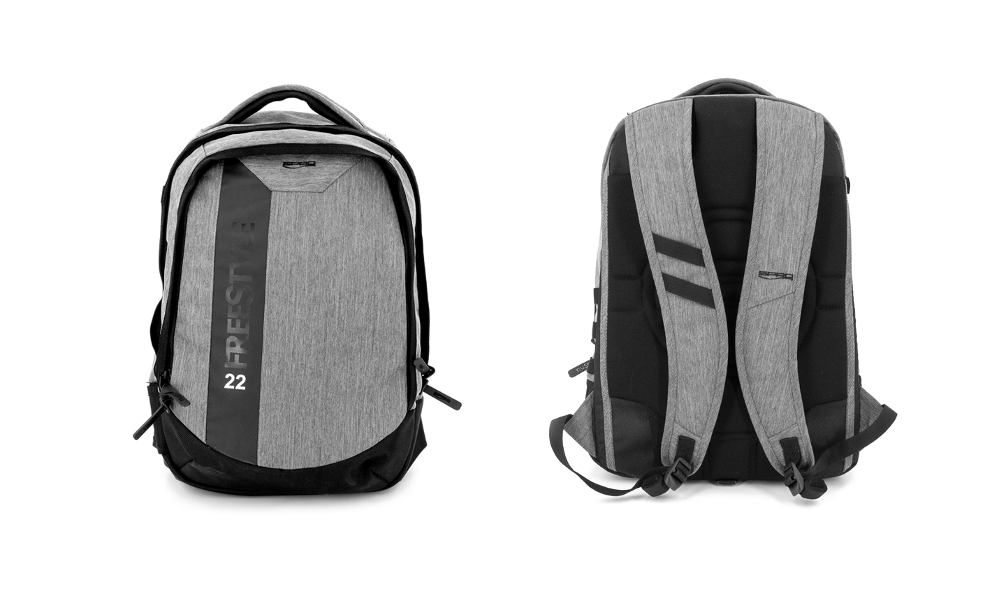 Front & Back View - Backpack 22