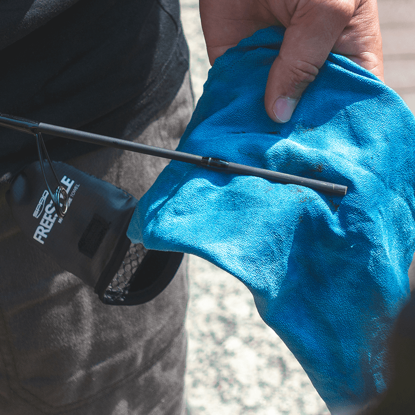 Key Features Microfibre Towel - Cleaning Rod Sections