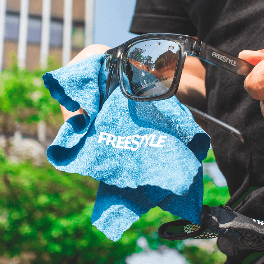 Key Features Microfibre Towel - Cleaning Sunglasses