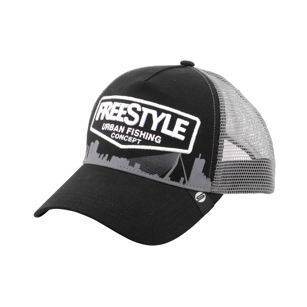 Freestyle - Trucker Cap - Black
