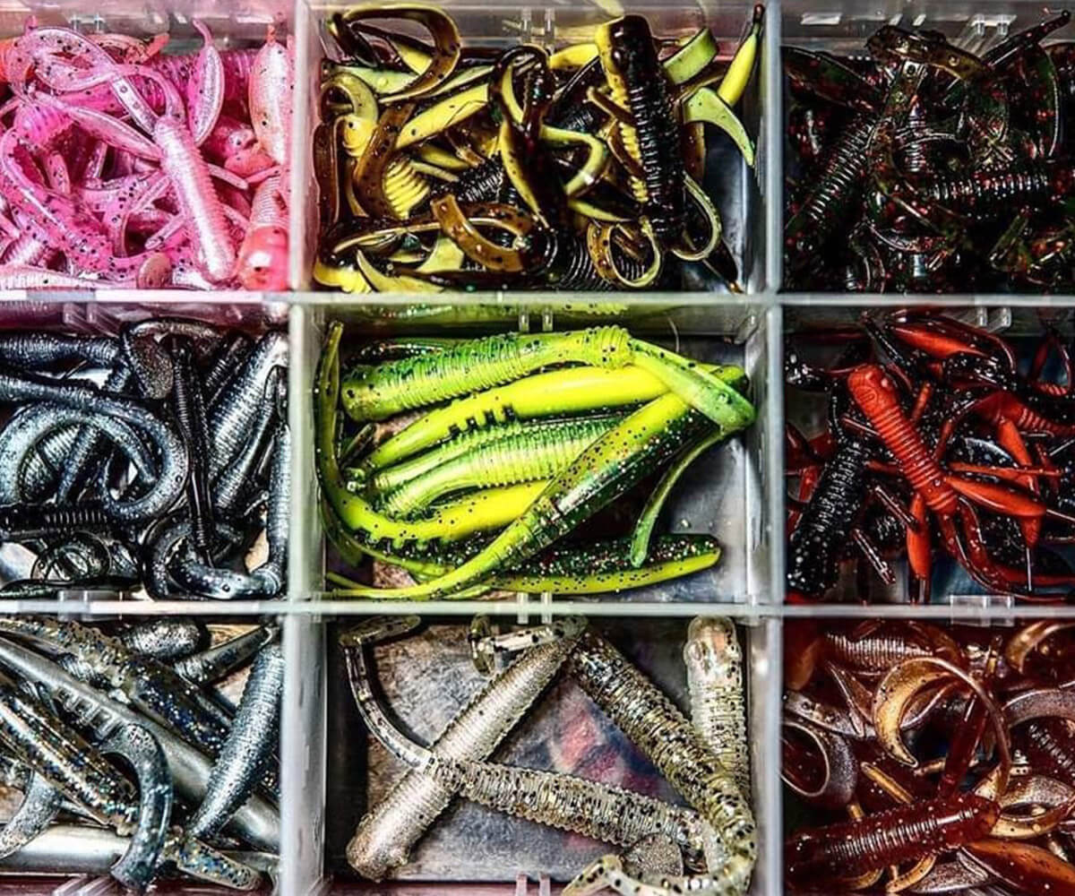 Street Fishing Basics - Soft Lures