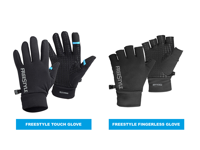 Side By Side - Freestyle Fishing Gloves